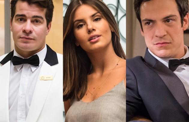 """""""Pega pega"""" (2017) volta ao ar hoje. Atores do elenco falaram à coluna sobre os momentos mais marcantes do trabalho. Confira a seguir (Foto: TV Globo)"""