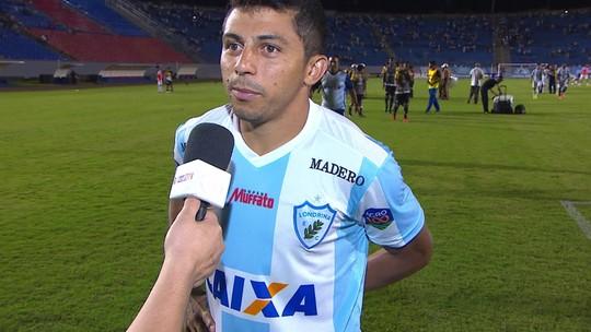 """Felipe Marques após a vitória sobre o Criciúma: """"Faz tempo que eu não faço dois gols"""""""