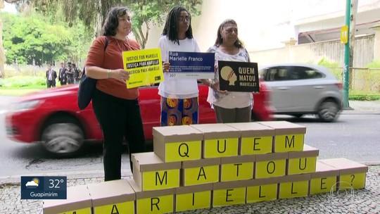 Anistia Internacional protesta em frente ao Palácio Guanabara