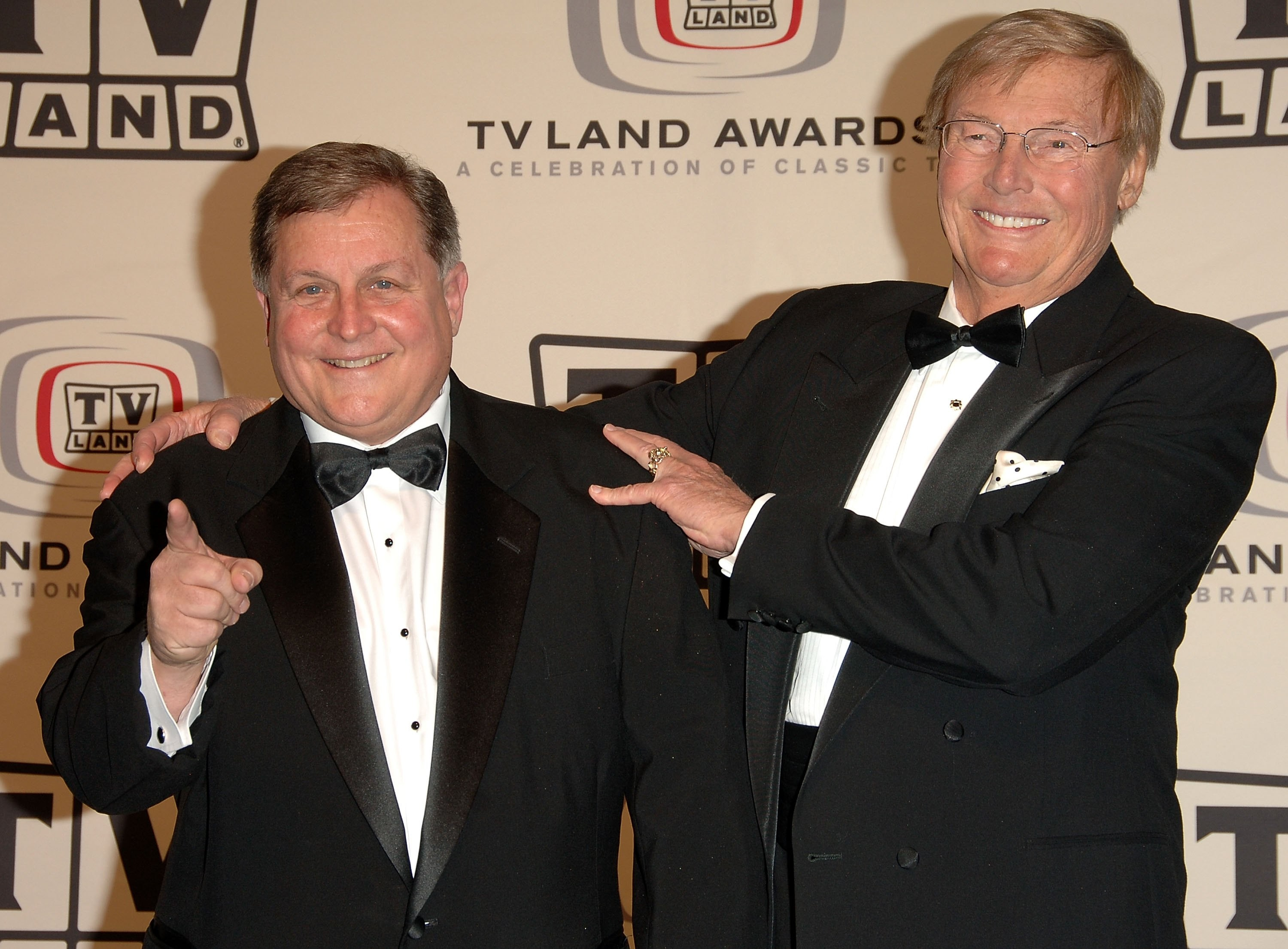 Adam West e Burt Ward em foto de 2006 (Foto: Getty Images)