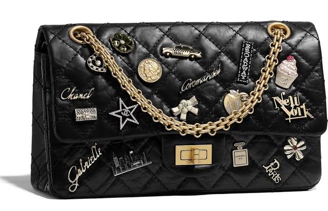 A bolsa 255 criada exclusivamente para a loja da Chanel na Rua 57 em Nova York Foto Divulgao