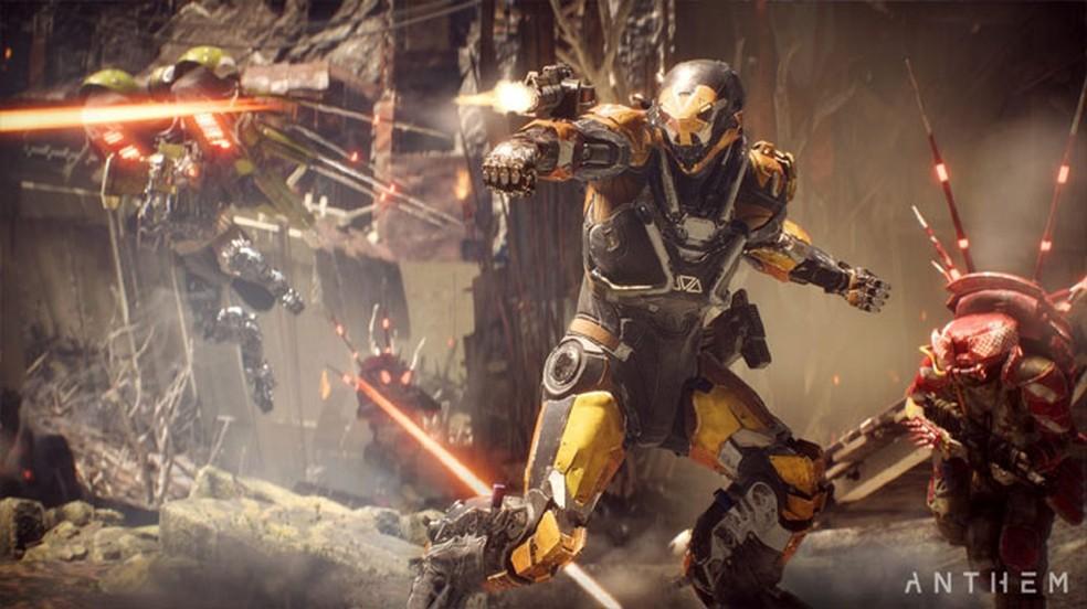 Anthem era um game com muito potencial, mas que não agradou aos jogadores — Foto: Divulgação/Electronic Arts