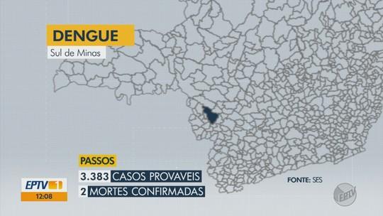 Quatro cidades do Sul de MG aparecem em boletim com alta incidência de dengue
