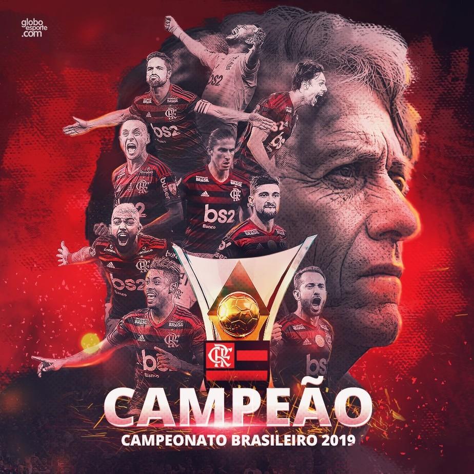 A festa não para! Flamengo é campeão brasileiro com derrota do Palmeiras para o Grêmio