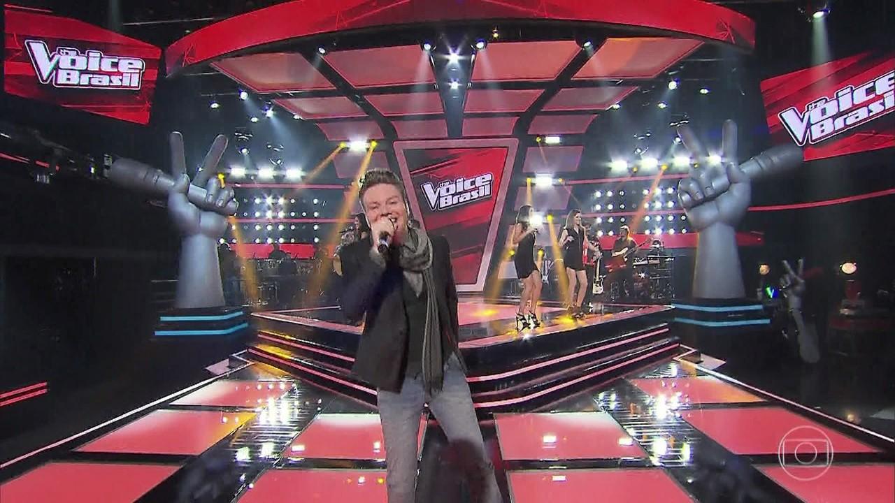 Michel Teló encerra quarta noite de audições às cegas