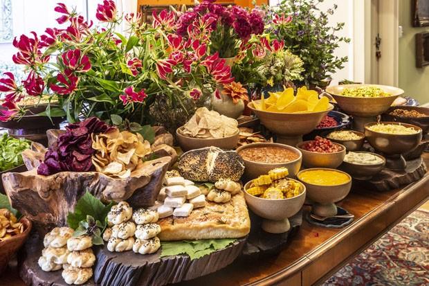 Festa com menu mexicano cheia de cores e sabores (Foto: Douglas Daniel)