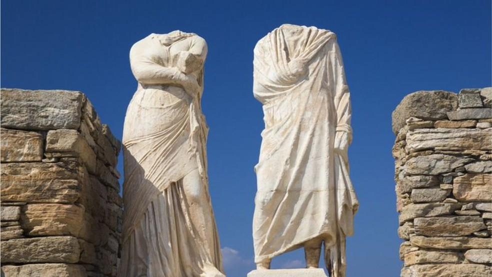Brancura era fruto de ignorância e distorção, escreve Elisa Kriezis — Foto: Getty Images via BBC