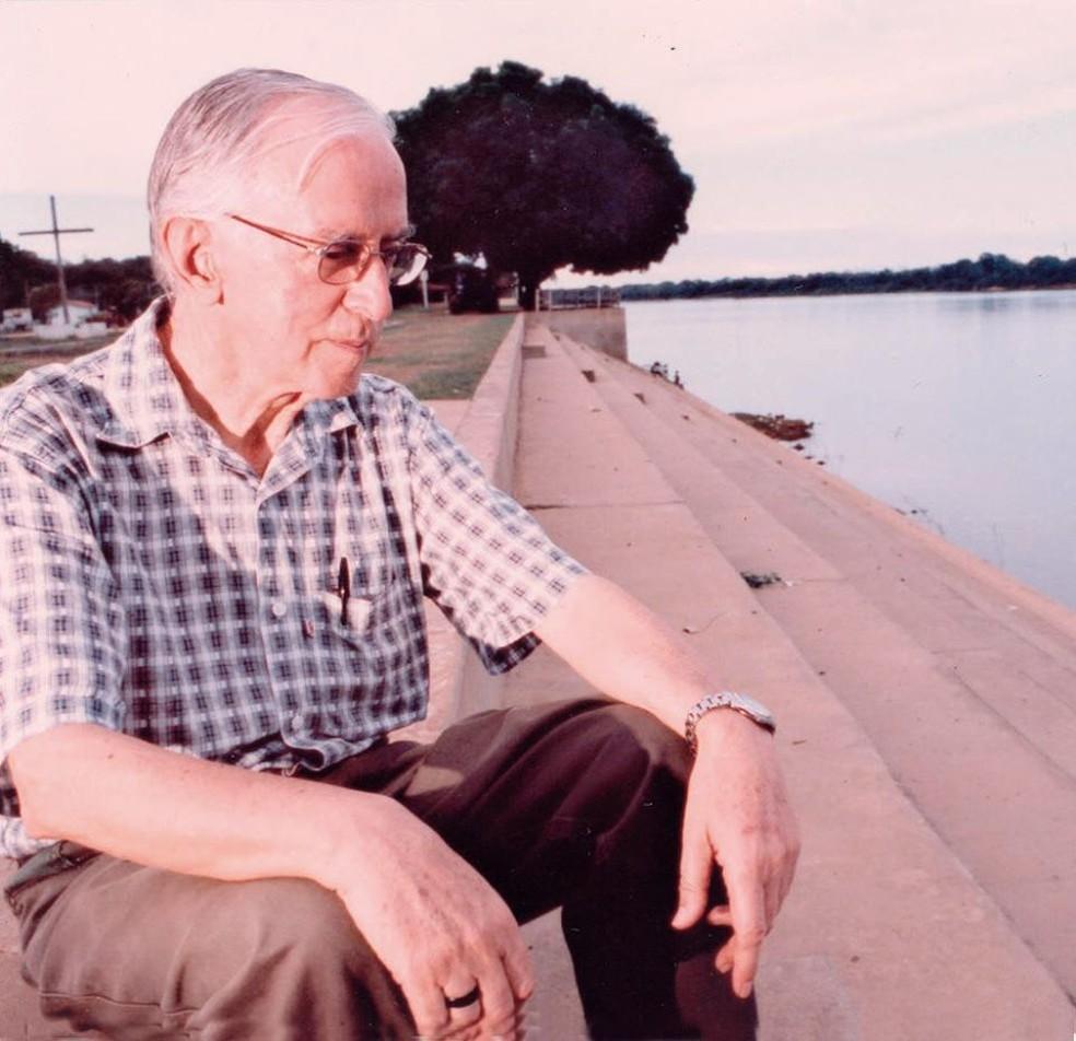 O bispo emérito de São Félix do Araguaia (MT), Dom Pedro Casaldáliga, de 92 anos, morreu às 9h40 deste sábado (8) na cidade de Batatais, São Paulo — Foto: Arquivo pessoal