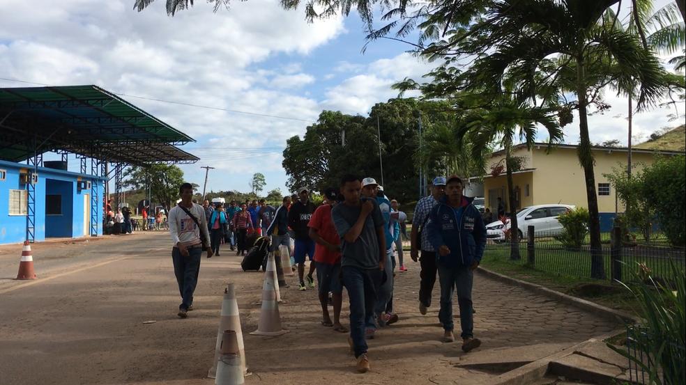 G1 visitou a fronteira do Brasil com a Venezuela nesta seguda (7) (Foto: Emily Costa/G1 RR)