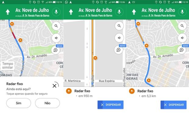 Google Maps reprodução de tela (Foto: Autoesporte)