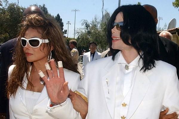 O cantor Michael Jackson com a irmã, La Toya Jackson (Foto: Getty Images)