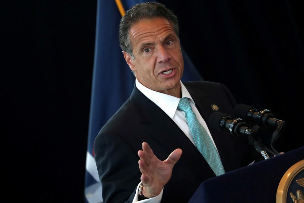 Governador de Nova York, Andrew Cuomo  — Foto: REUTERS/Mike Segar