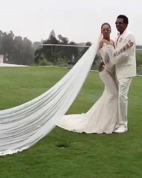 Beyoncé e Jay-Z renovam votos de casamento (Foto: Instagram Beyoncé/ Reprodução)