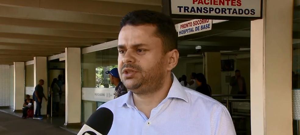 Diretor de atenção hospitalar do IHB — Foto: TV Globo