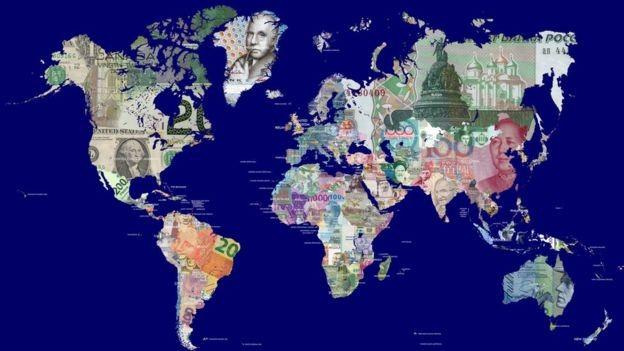 Listas costumam classificar os países mais ricos de acordo com o PIB que ostentam (Foto: Getty Images via BBC)