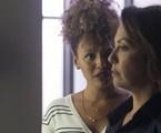 Nana (Fabiula Nascimento) e Gisele (Sheron Menezzes)   TV Globo