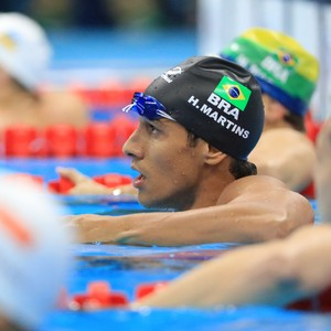 Henrique Rodrigues natação (Foto: Reuters)