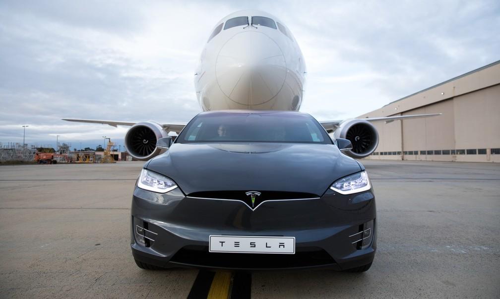 Tesla Model X tem mais de 500 cv e 67 kgfm de torque (Foto: Divulgação)