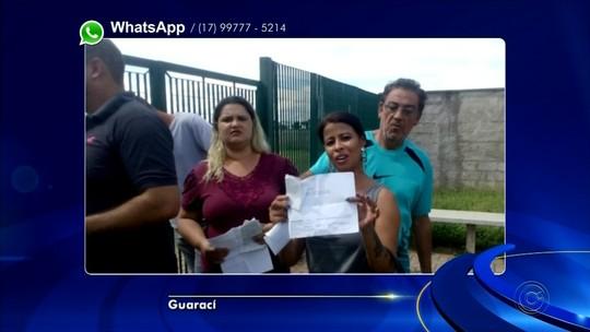 Candidatos de concurso reclamam de fechamento de portões antes do horário previsto em Guaraci
