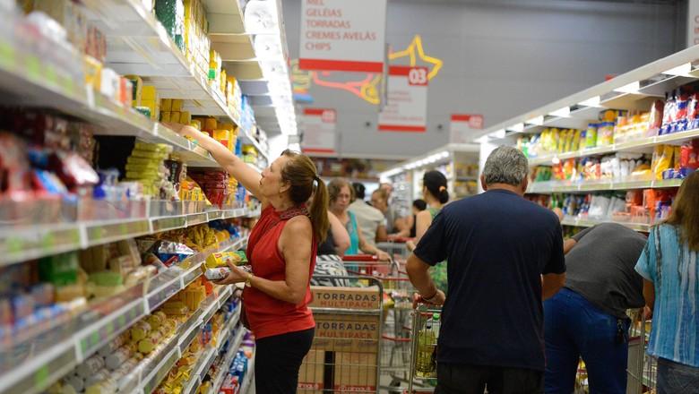 preço-mercado--inflação-economia-alimentos (Foto: Tânia Rêgo/Agência Brasil)