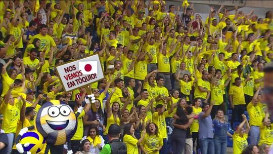 Brasil vence dominicanas no tie-break, e vôlei feminino garante vaga em Tóquio 2020