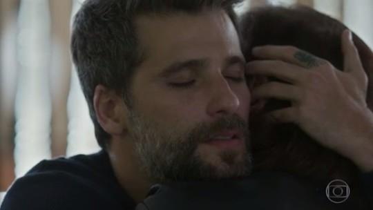 'O Sétimo Guardião': Valentina e Gabriel se reconciliam; reveja a cena