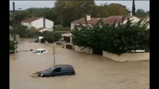 Temporal deixa 13 mortos no Sul da França