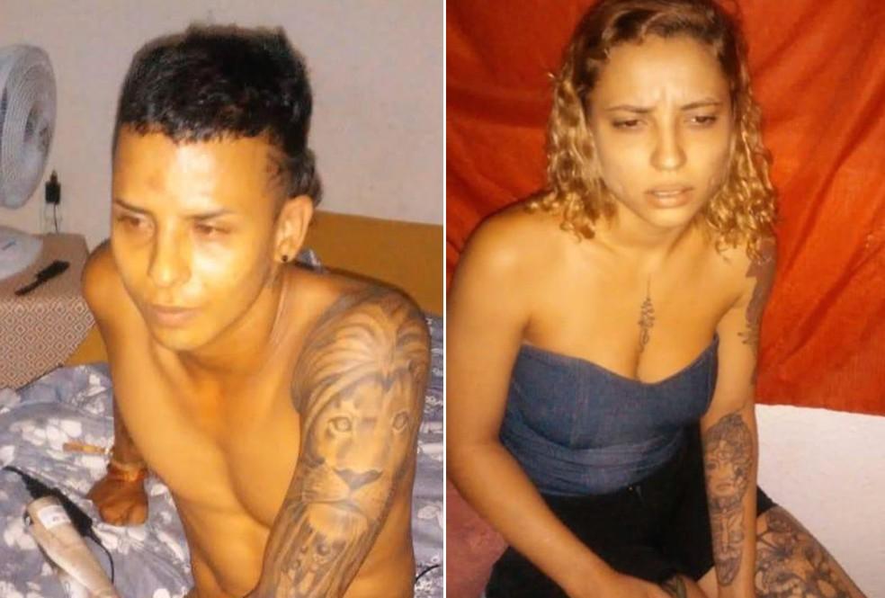 Casal desapareceu na sexta-feira (14) — Foto: Arte/G1