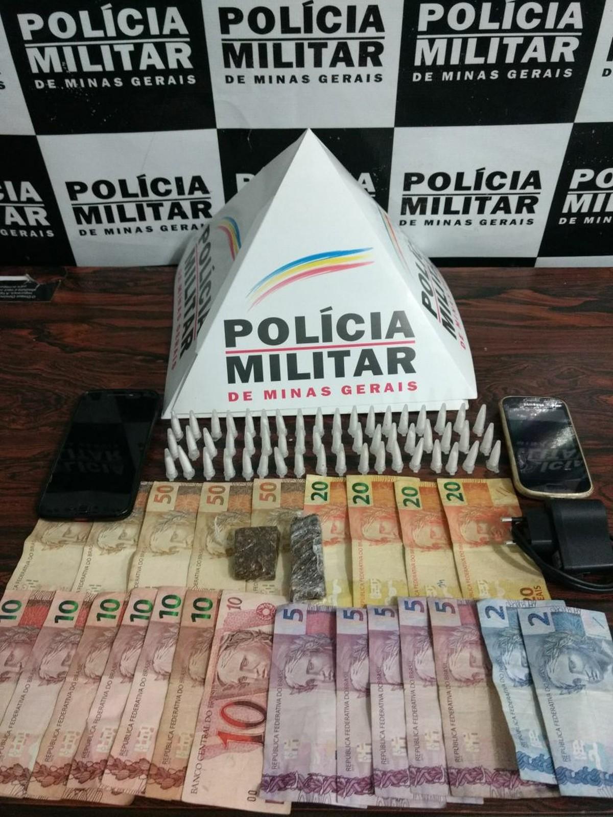 Dupla é detida com maconha e cocaína durante operação da PM em Divinópolis