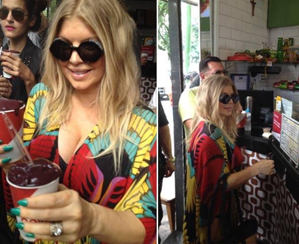 Fergie passeia por Ipanema, vai a casa de sucos e conversa com fãs -  Revista Glamour | Celebridades