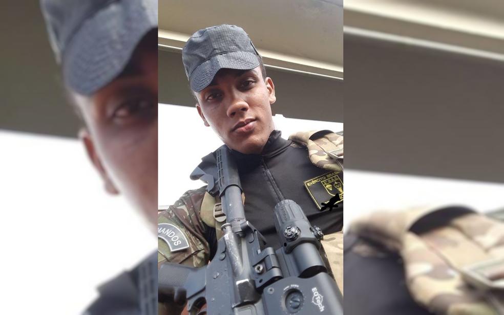 Victor Campos Ferreira desejava seguir carreira militar (Foto: Reprodução)