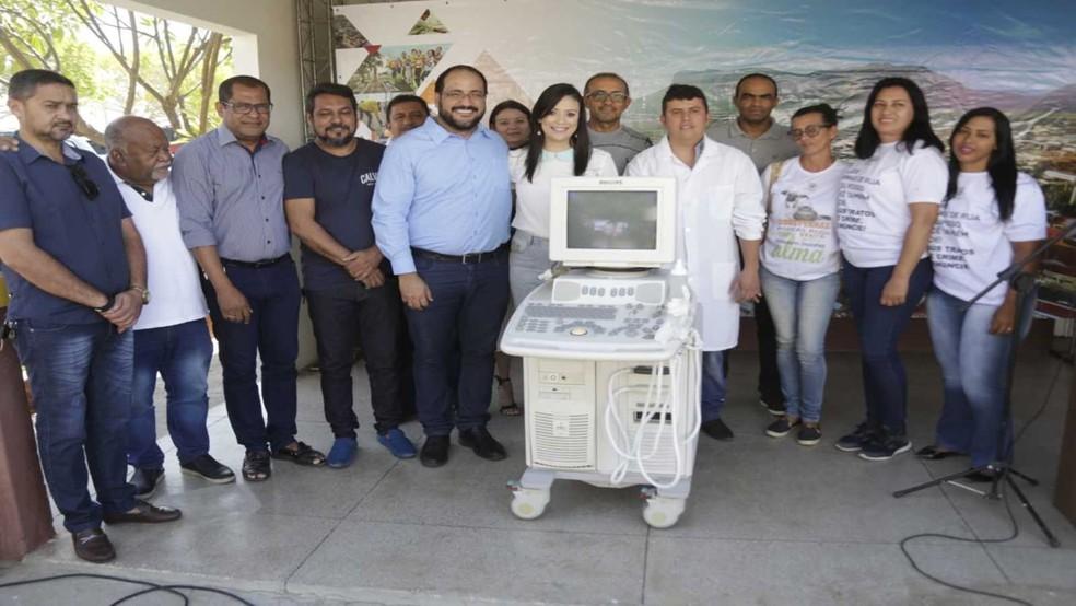 Hospital Veterinário Municipal recebe aparelho de ultrassonografia  — Foto: Divulgação