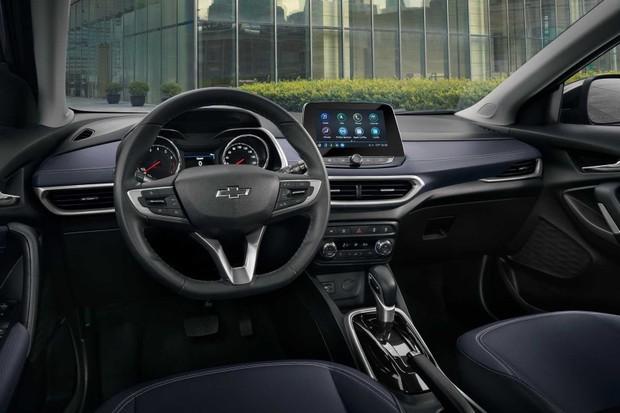 Interior Chevrolet Tracker (Foto: Divulgação)