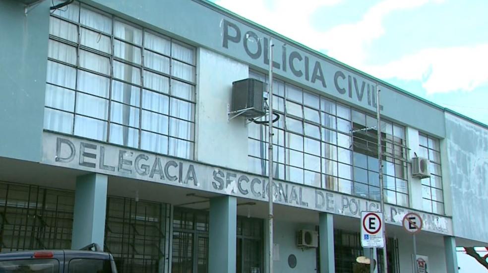 Delegacia Seccional de Franca (SP) — Foto: José Augusto Júnior/EPTV