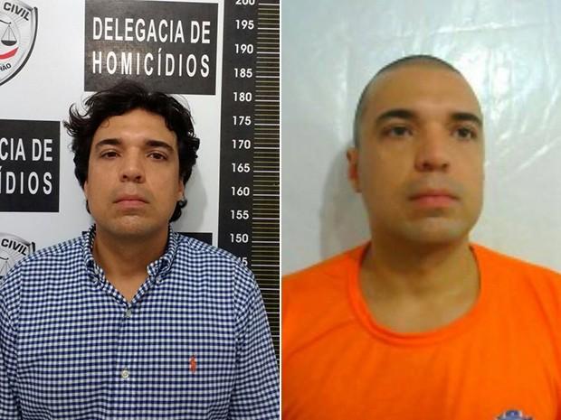 Lucas Leite Ribeiro Porto foi preso como suspeito da morte de Mariana Costa, em São Luís (MA) (Foto: Foto montagem:G1)