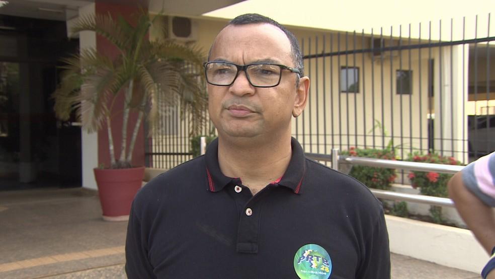 Coronel Charlon irá concorrer ao governo de Rondônia em chapa puro sangue. (Foto: Pedro Bentes/G1)