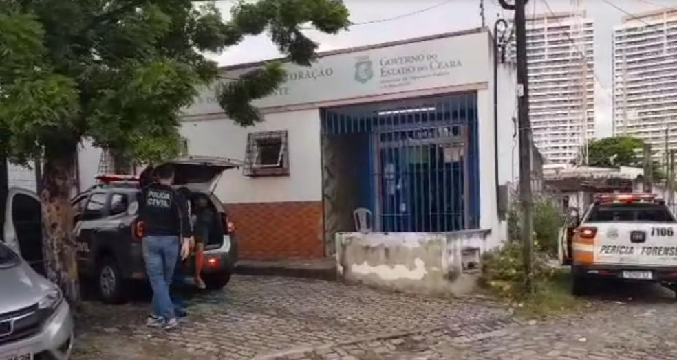 Policiais civis cumprem mandados de busca e apreensão em Fortaleza (CE) — Foto: MJSP/Divulgação