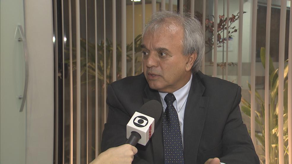 Presidente do Sindicato dos Corretores de Seguros do DF, Dorival Souza (Foto: TV Globo/Reprodução)