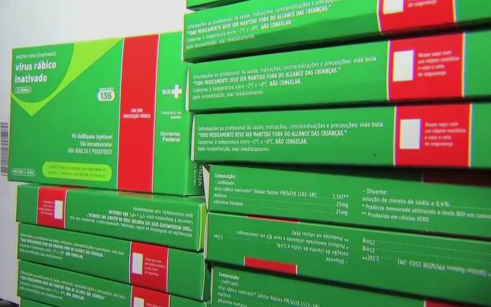 Sespa enviou 1.000 doses de vacinas antirrábicas e 300 frascos de soros antirrábico para região do Marajó. (Foto: Reprodução/TVCA)