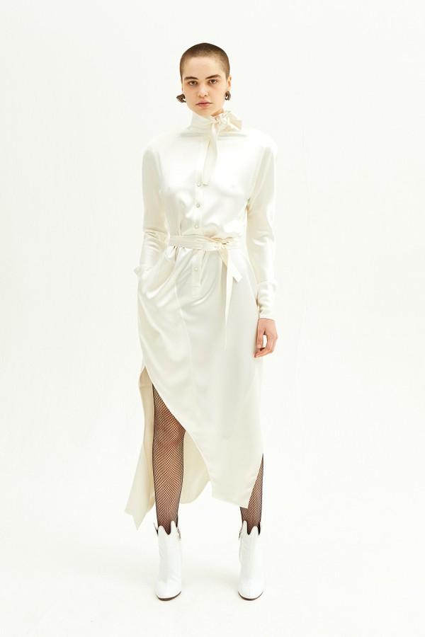 O vestido da coleção bridal de Andreas Kronthaler para Vivienne Westwood - verão 2019 (Foto: Divulgação/ WWD)