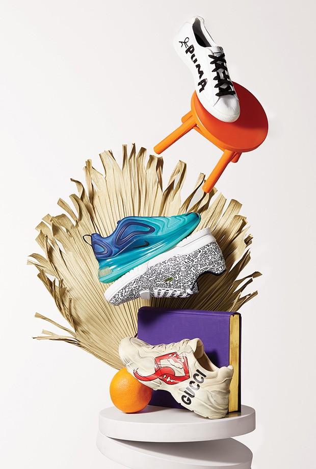 Sneakers: Puma x Shantell  Martin R$ 499,90 (Foto: Deborah Maxx)