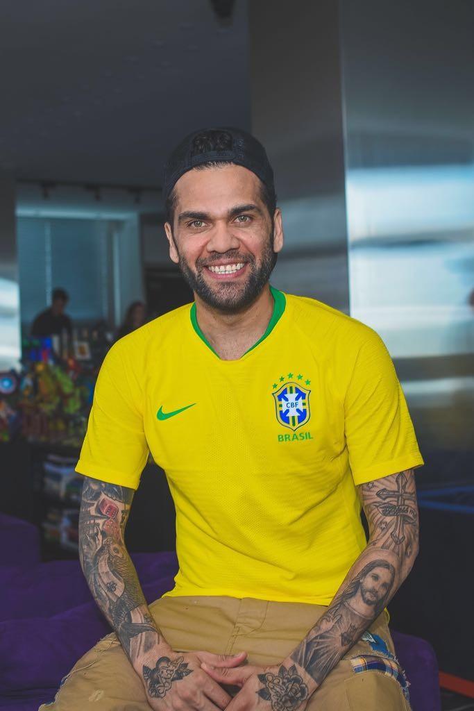 Daniel Alves  (Foto: Ale Virgilio)