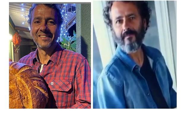 Marcos Palmeira deixou o cabelo e a barba crescerem para viver José Leôncio no remake da obra (Foto: Reprodução)