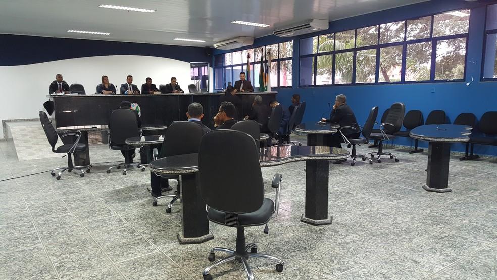 Comissão apura caso envolvendo vereador (Foto: Pâmela Fernandes/G1)