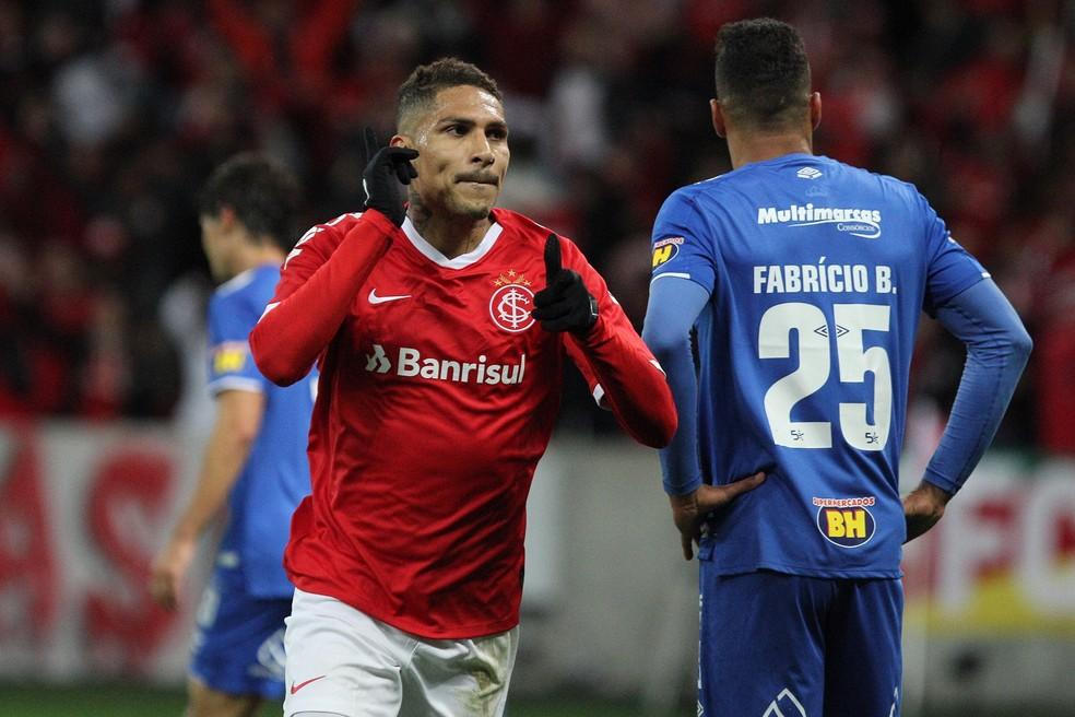Guerrero Inter x Cruzeiro  Foto ROBERTO VINCIUSESTADO CONTEDO