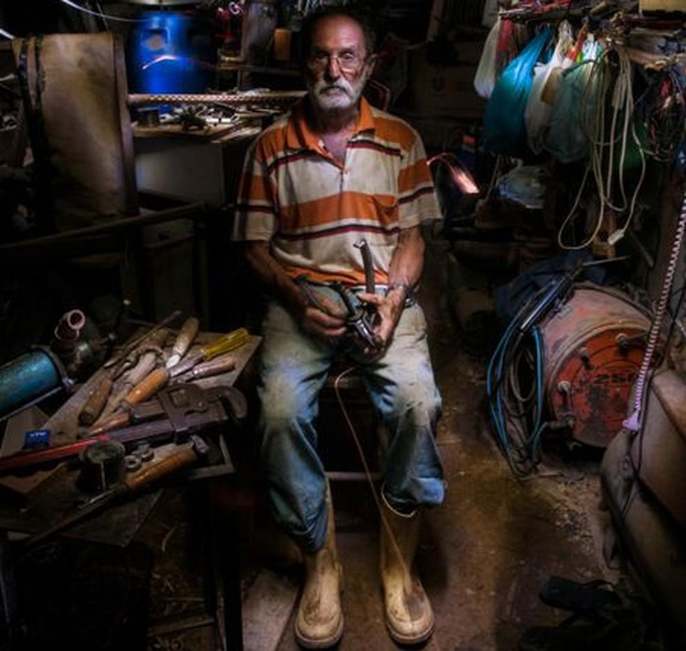 """""""Os Iluminados"""" está em exposição permanente na Univali, em Florianópolis (Foto: Divulgação)"""
