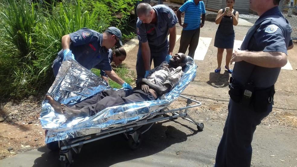 Suspeito de matar Simone foi encontrado debilitado e preso uma semana após o crime  (Foto: Arquivo Pessoal)