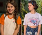 Isabella Koppel, a Dayse, está com 14 anos e trabalha como atriz, dubladora e cantora. Desde a novela, ela fez 'Os dias eram assim' e 'Apocalipse', entre outros trabalhos | TV Globo / Reprodução