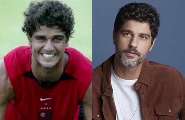 """Bruno Cabrerizo foi jogador de futebol antes de virar ator. """"Chegou uma hora que vi que o futebol não era o meu caminho, o meu negócio é arte"""" (Foto: Reprodução)"""
