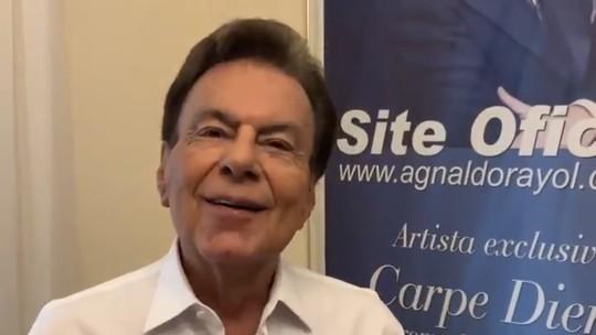 Agnaldo Rayol agradece homenagem de Ceará no 'Show dos Famosos': 'Um artista completo'
